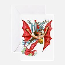Flying Lady Greeting Card
