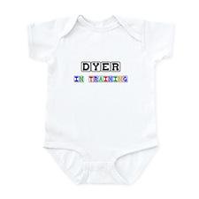 Dyer In Training Infant Bodysuit