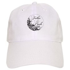 Elegant Floral Father of the Bride Baseball Baseball Cap