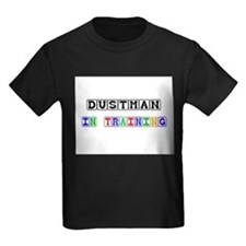 Dustman In Training Kids Dark T-Shirt