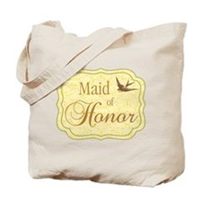 Bird Maid of Honor Tote Bag