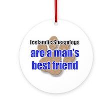Icelandic Sheepdogs man's best friend Ornament (Ro