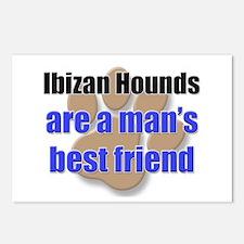 Ibizan Hounds man's best friend Postcards (Package