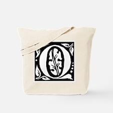 Art Nouveau Initial Q Tote Bag