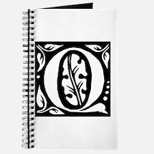 Art Nouveau Initial Q Journal