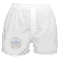 Brides White Orchid Boxer Shorts