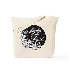 Elegant Floral Mother of the Bride Tote Bag