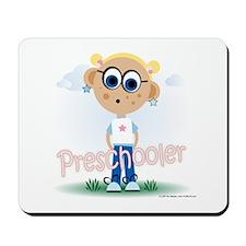 Preschool Girl (bl) Mousepad