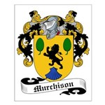 Murchison Family Crest Small Poster