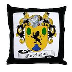 Murchison Family Crest Throw Pillow