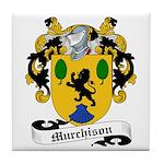 Murchison Family Crest Tile Coaster
