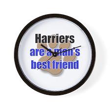 Harriers man's best friend Wall Clock
