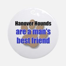 Hanover Hounds man's best friend Ornament (Round)