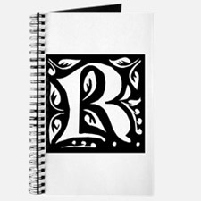 Art Nouveau Initial R Journal