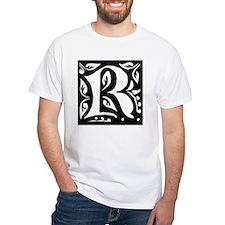 Art Nouveau Initial R Shirt