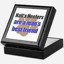 Hall's Heelers man's best friend Keepsake Box