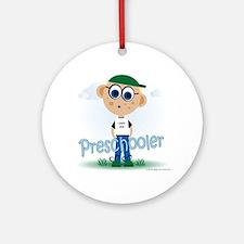 Preschool Boy (bl) Ornament (Round)