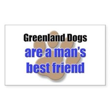 Greenland Dogs man's best friend Decal