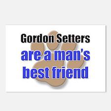 Gordon Setters man's best friend Postcards (Packag
