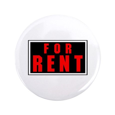 "For Rent 3.5"" Button (100 pack)"