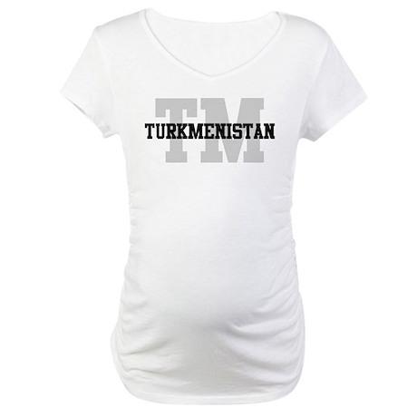 TM Turkmenistan Maternity T-Shirt