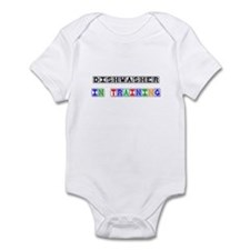 Dishwasher In Training Infant Bodysuit