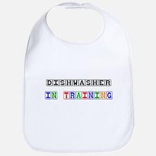 Dishwasher In Training Bib