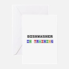 Dishwasher In Training Greeting Cards (Pk of 10)