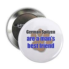 """German Spitzen man's best friend 2.25"""" Button"""