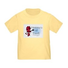 Mommy's Lil' Devil Tattoo T