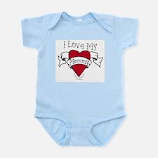 Mommy Heart Tattoo Infant Bodysuit