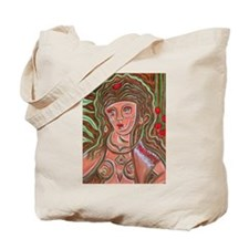 Woman From Morganita Tote Bag