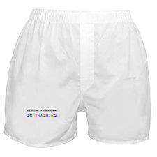 Desktop Publisher In Training Boxer Shorts