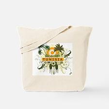 Palm Tree Tunisia Tote Bag
