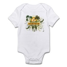 Palm Tree Tunisia Infant Bodysuit