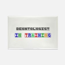 Deontologist In Training Rectangle Magnet