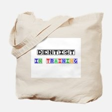 Dentist In Training Tote Bag