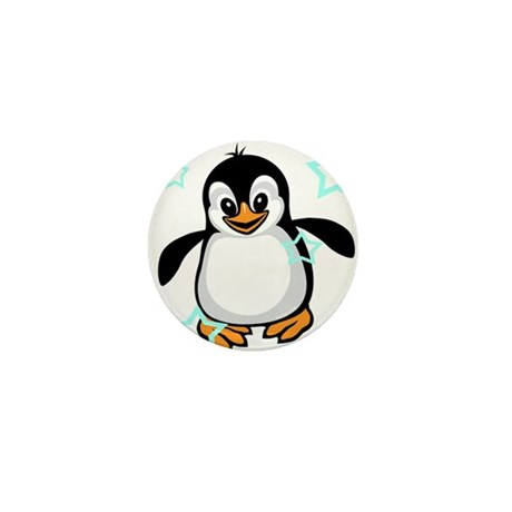 Cute Penguin Shirt Mini Button