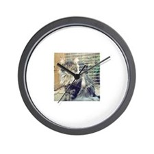 'WildThing' Tobias_MaineCoon Wall Clock