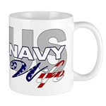 US Navy Wife Mug