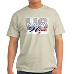 US Navy Wife Ash Grey T-Shirt