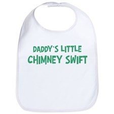 Daddys little Chimney Swift Bib