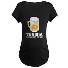 Tunisia Drinking Team T-Shirt