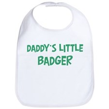 Daddys little Badger Bib