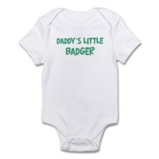 Daddys little Badger Infant Bodysuit