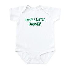 Daddys little Badger Onesie