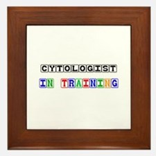 Cytologist In Training Framed Tile