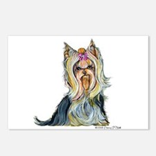 Yorkshire Terrier Her Highnes Postcards (Package o