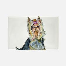 Yorkshire Terrier Her Highnes Rectangle Magnet