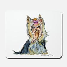 Yorkshire Terrier Her Highnes Mousepad